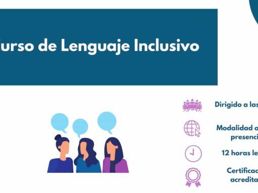 Curso de Lenguaje inclusivo