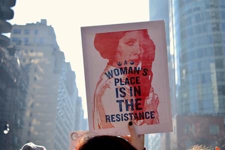 manifestacion del 8M: día internacional de la mujer