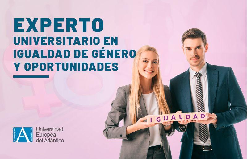 Matrícula abierta: curso de experto en Igualdad de Género y Oportunidades