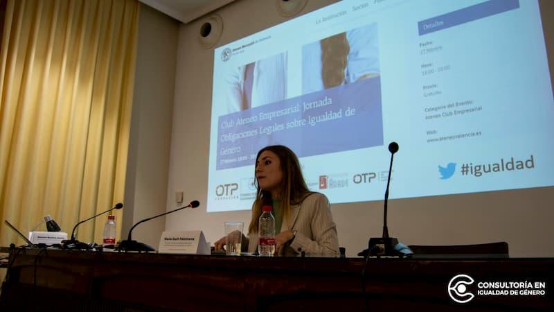 María Such Palomares. Directora General del Instituto Valenciano de las Mujeres y por la Igualdad de Género