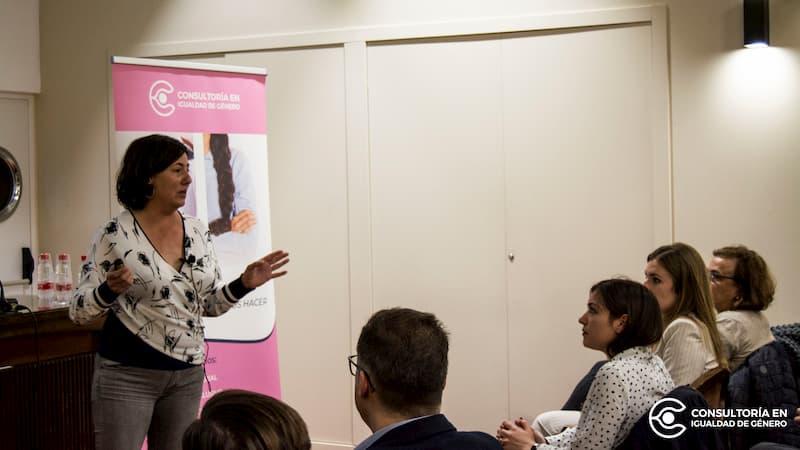 Rosario Benítez Morón. Secretaria de acción sindical e igualdad de UGT-PV