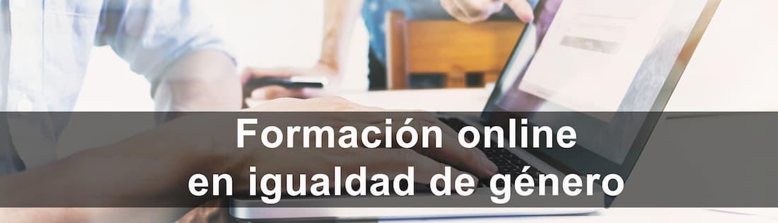 cursos de igualdad: formación online