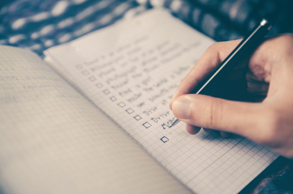 checklist asesoría externa