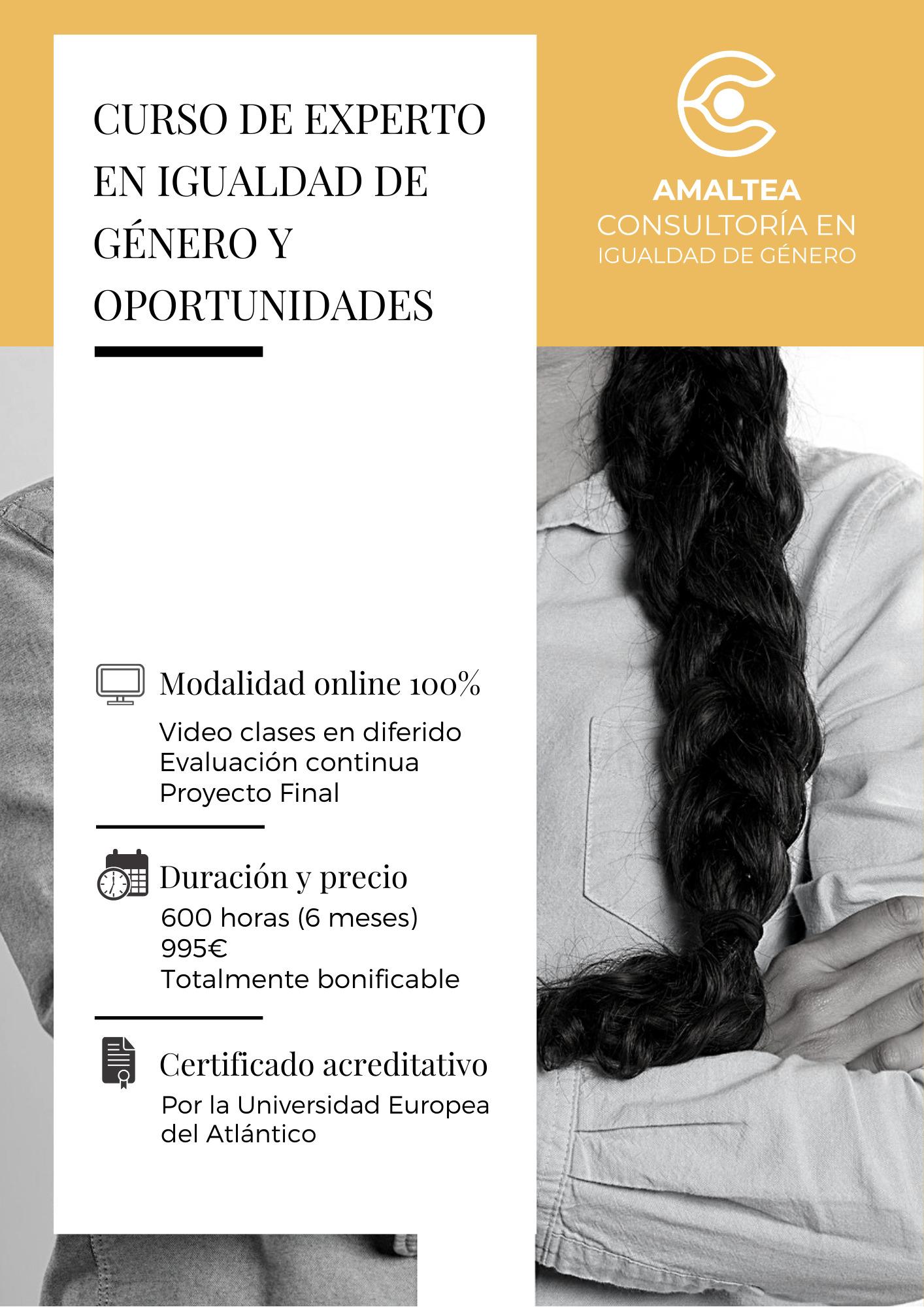 Curso de Experto en Igualdad de Género y Oportunidades 1
