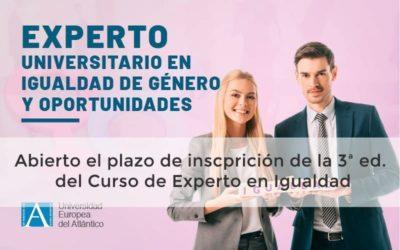3ª EDICIÓN DEL CURSO DE AGENTE DE IGUALDAD