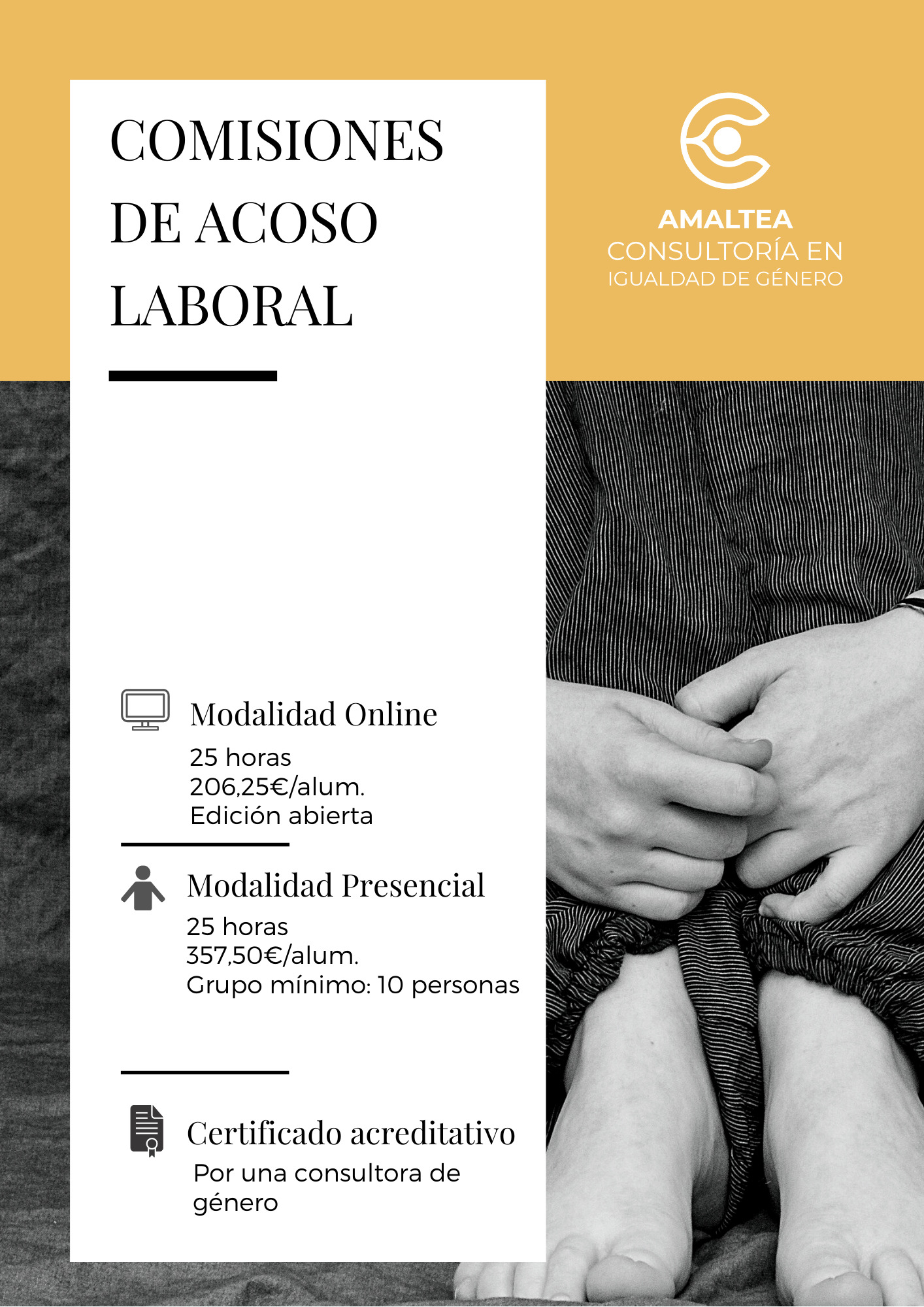 Portada de la Ficha de la Formación del Comité de Acoso Laboral