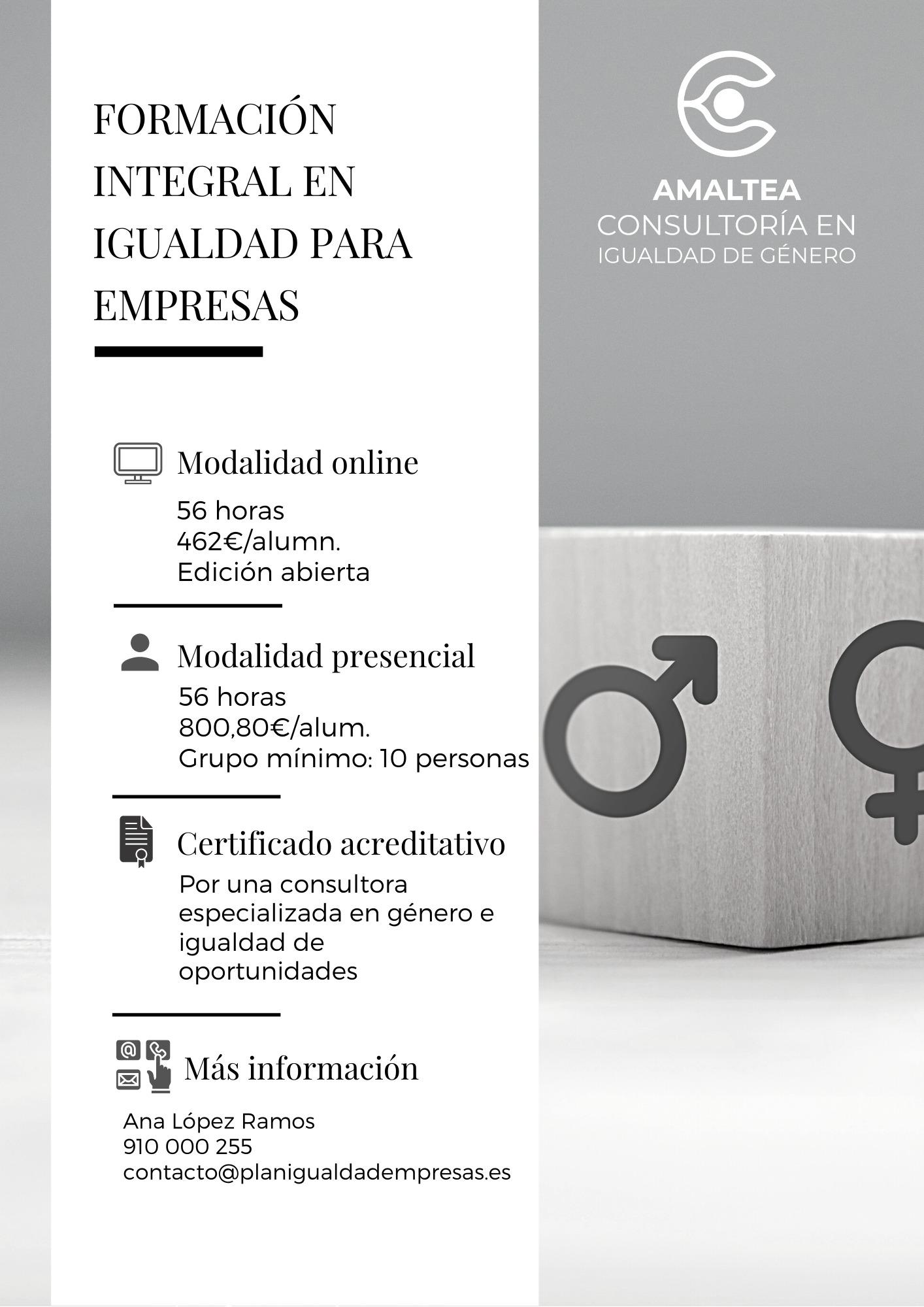 Curso de Formación Integral en Igualdad 1