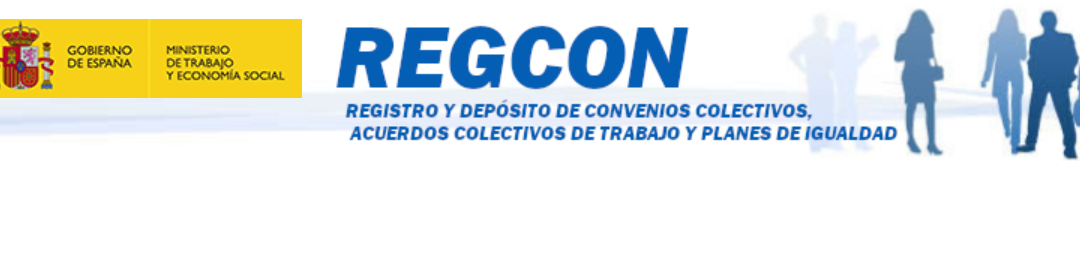Registro del Plan de Igualdad en el REGCON