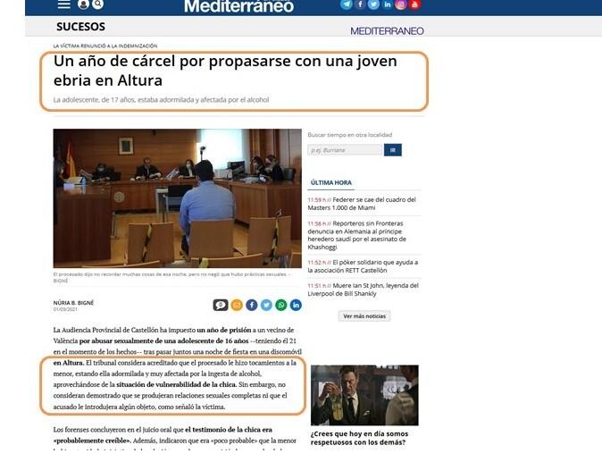 11M: Día de Lucha contra la Violencia de Género en los Medios de Comunicación (Argentina) 2