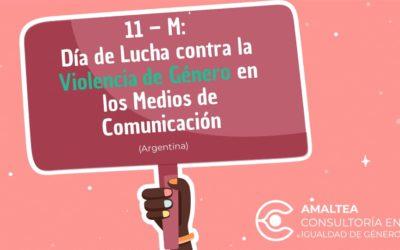 11M: Día de Lucha contra la Violencia de Género en los Medios de Comunicación (Argentina)